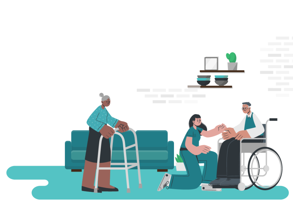 Home Care illustration